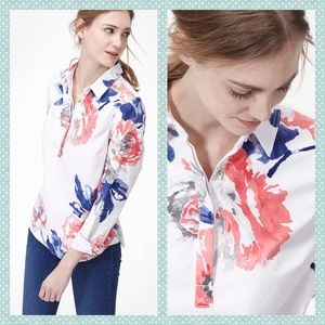 Joules Mariners Grade Floral Clovelly Top